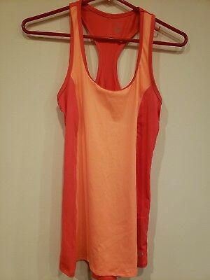 363110358b2f90 WOMEN S C9 CHAMPION Duo Dry Coral Athletic Tank Top Sleeveless Size ...
