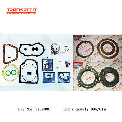 5e20bae0520 VW 095 01M Transmission Rebuild kit Master kit Overhaul Trasnpeed T10900C  90-ON