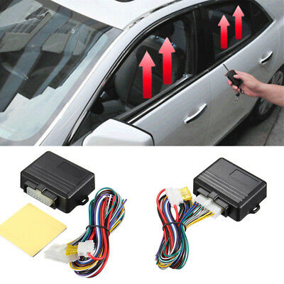 Universal Automatic 4-door Power Window Roll Up Closer Security System Kit