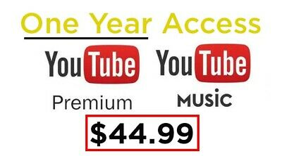 [200+ Sold] YouTube Premium (1 YEAR ACCESS)