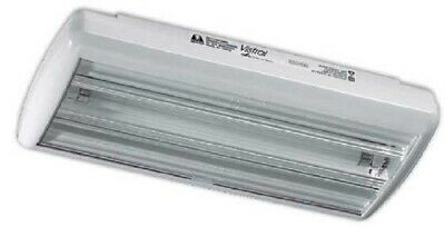 Menvier SHALLOW PROFILE EMERGENCY LIGHT TROFFER 8W 230V Watertight Surface Mount