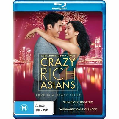 Crazy Rich Asians (Blu-Ray, 2018) BRAND NEW & SEALED