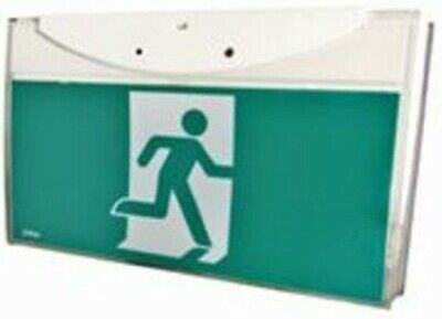 Menvier RUNNING MAN EMERGENCY EXIT SIGN LIGHT 8W T5-Fluorescent, Maintained