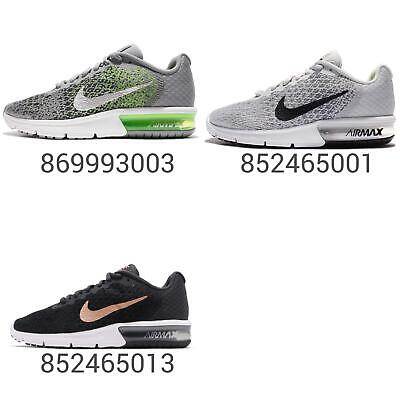 super popular bb408 e190c Nike Air Max Sequent 2 II Women Wmns GS Kids Running Shoe Sneakers Pick 1