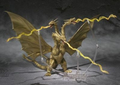 KING GHIDORAH Godzilla  S.H.Monster Arts SHMonsterArts SHM - Bandai *""