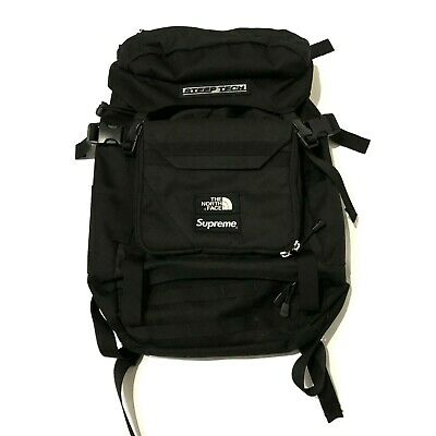 1856bed1b SUPREME X THE north face steep tech backpack black 100% authentic TNF bogo  box