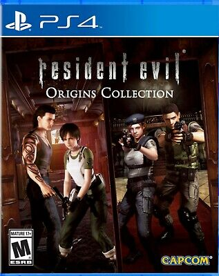 Resident Evil: Origins Collection US Version English subtitle PS4 NEW