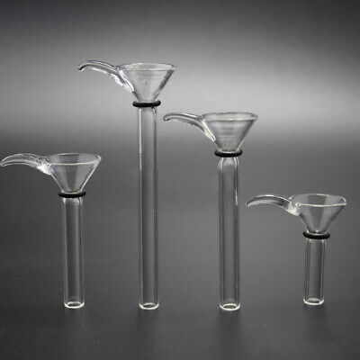 Various Length Glass Replacement Slide with Handle Glass Bowl for Water Pipe
