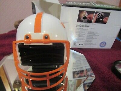 Vintage Tenn Vol Football Helmet Coin Bank By Ertl Nib Mint Condition!!