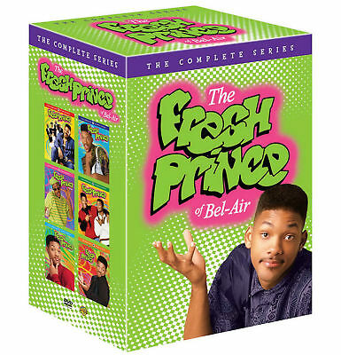 The Fresh Prince of Bel-Air: The Complete Series season 1-6 (DVD, 2017, 22-Disc)