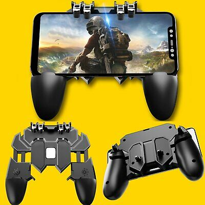 New AK66 Gamepad PUBG Mobile Trigger Shooter Controller Joystick For Android IOS