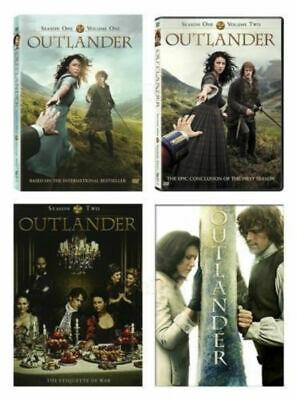 Outlander: The Complete Series Seasons 1-3 1&2 and 2&3 DVD Set Brand New Sealed