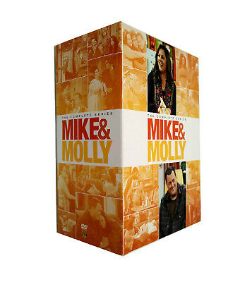 Mike & Molly : The Complete Series Season 1-6 (DVD 17-Disc Set) Brand New Sealed