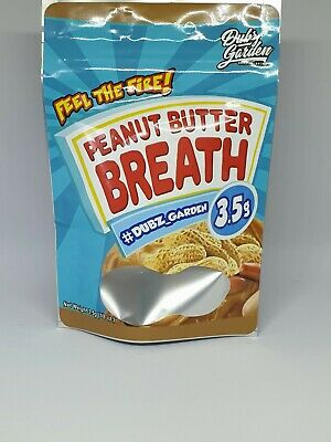 1x Peanut Butter Breath Mylar Bag Cali tin label CaliLabels