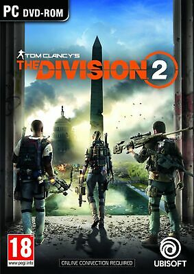 Tom Clancy's The Division 2 (PC CD) IN STOCK NOW Brand New & Sealed UK PAL