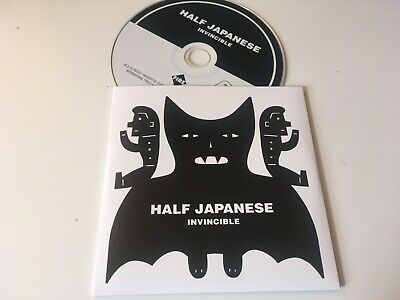 Half Japanese 2019 PROMO CD ALBUM Invincible