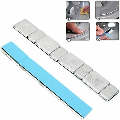 Practical New Motorbike Silver Wheel Tyre Cars Tire Balance Weights Adhesive