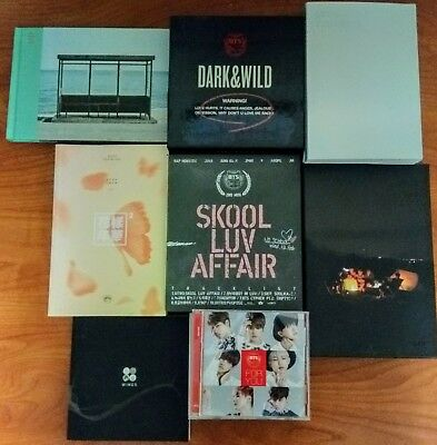 BTS Album [No photocard] US Seller