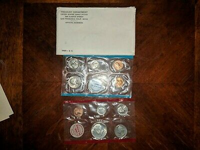 1969 US United States Mint Uncirculated Coin Collection