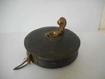 Vintage Leather 50 FEET Measuring Tape Warranted Correct - Collectable Tool
