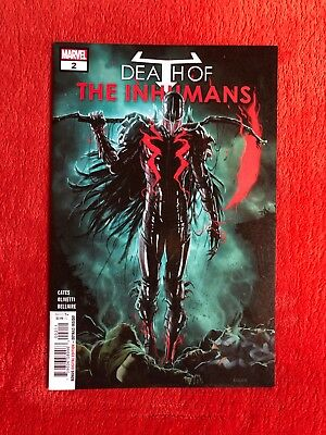 DEATH OF THE INHUMANS #2  Marvel Comics Donny Cates NEW NM