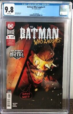 Batman Who Laughs #1 (2019) CGC 9.8 1st Print Cover A 1st App Of Grim Knight!