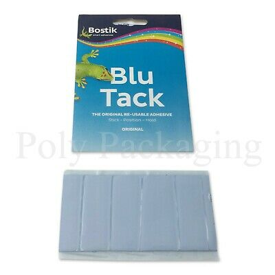 """Strong """"Bostik""""BLUTAC BLUE TACK Sticky Reusable for Stick Posters Pictures Wall"""