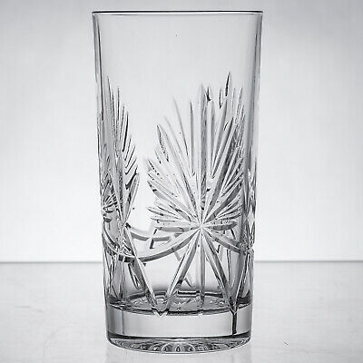 Star of Edinburgh Crystal 12 oz Highball Tumbler Glass signed 1sts - more availa