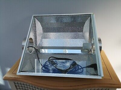 "6"" Air Cooled Reflector Hood 6 Inch Light Shade Hydroponic Ventilation 56cm"