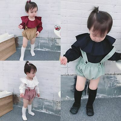 Pants Children Corduroy Girls Shorts Boys Kid Button Fly Mid Solid Casual Cotton