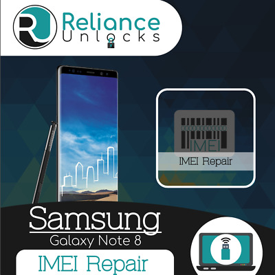 SAMSUNG IMEI REPAIR Service, Unbarring, Cleaning, S8, S8 Plus, Note
