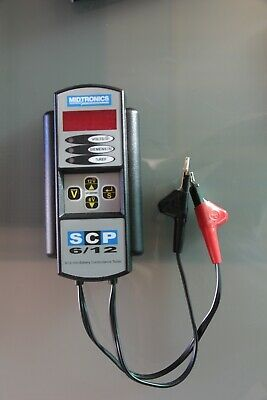 Battery tester, Midtronics scp6/12, Hardly used