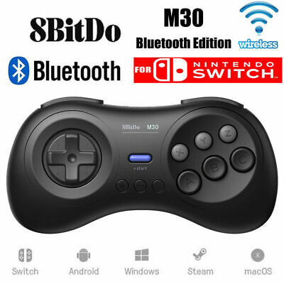 Bluetooth Wireless Game Controller Joypad Gamepad For Nintendo Switch 8Bitdo M30