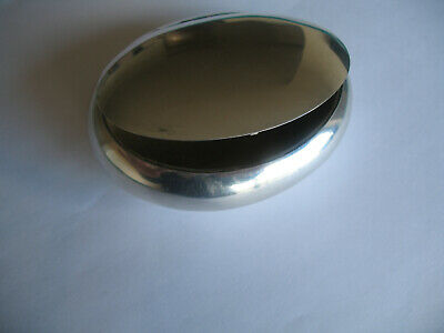 Edwardian Antique Sterling Snuff Box by Saunders and Shepherd Birmingham  c1909