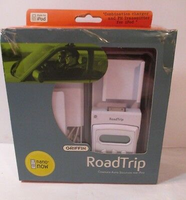 GRIFFIN RoadTrip FM Transmitter & Auto Charger for Apple iPod~Nano now
