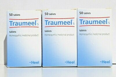 Heel Traumeel S Anti-Inflammatory Homeopathic Tablets Pain Relief 50tabs exp2023