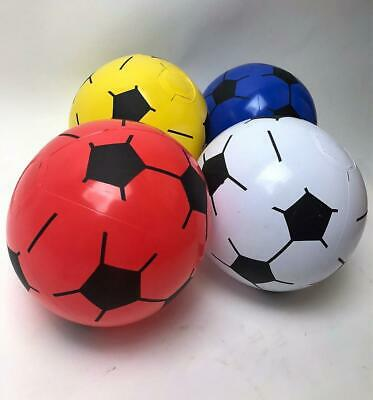 "6 x 8"" Plastic Inflatable Football Training Sports Outdoor Indoor Beach Toys"