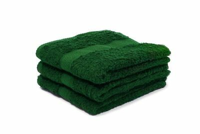 24 X Green Luxury 100% Egyptian Cotton Hairdressing Towels / Salon / 50x85cm