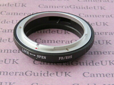 For Canon FD Lens To EOS EF Camera FD-EOS Tube Mount Adapter Ring