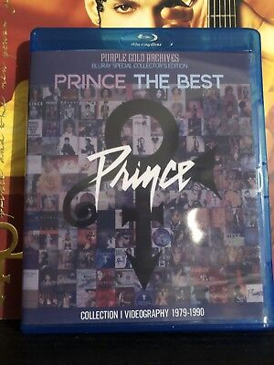 Prince Video Collection 1979-1990 Bluray Purple Gold Archives