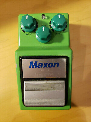 MAXON OD-9 OVERDRIVE with JHS Strong Mod Guitar Effect Pedal