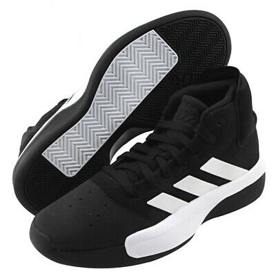 4855450a45b adidas Pro Adversary 2019 Men s Basketball Shoes Black Bounce NBA NWT BB7806
