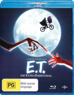 E.t. The Extra-Terrestrial (Blu-Ray) -Brand New & Sealed