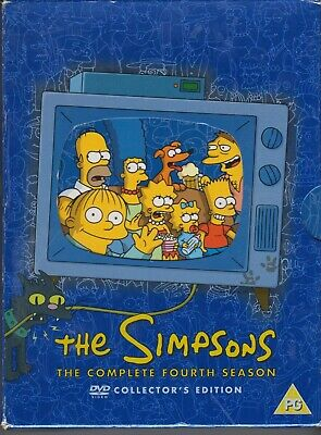 The Simpsons - Series 4 - Complete (DVD, 2004, 4-Disc Set)