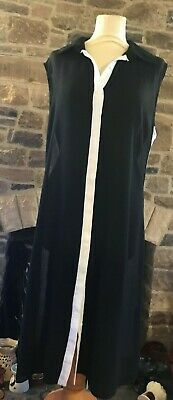 f275c6acf8 TAKING SHAPE/VIRTUELLE MAXI dress size M black with red and grey ...