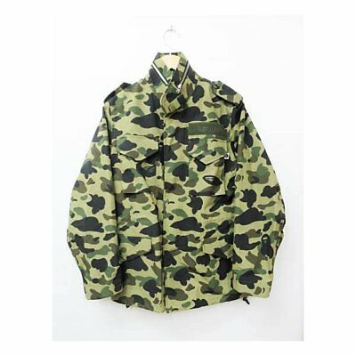 5331e0c2d8b1 SUPER RARE VINTAGE Authentic A Bathing Ape Mad Face Camo Jacket ...