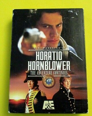 Horatio Hornblower The Adventure Continues 2-disc DVD box set Ioan Gruffudd A&E