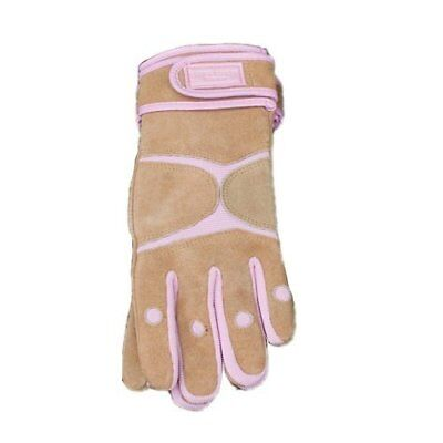 Laura Ashley Garden - Large Gardener's Avant-Garde Gloves - Prism Pink - Leather