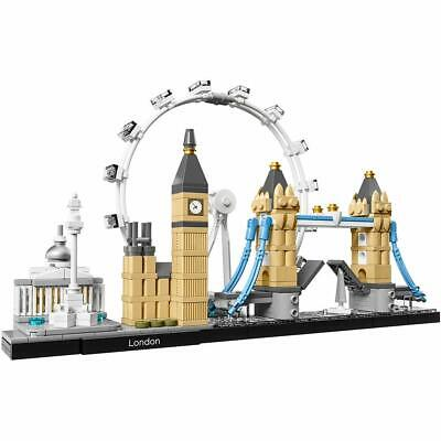🚛Fast Shipping! {NEW} LEGO Architecture London Skyline Collection 21034 468pc