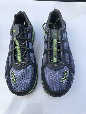 eee2896be68 HUK Performance Attack Shoe Fishing Boating Sneaker Size 10 H8011000-080  NEW!